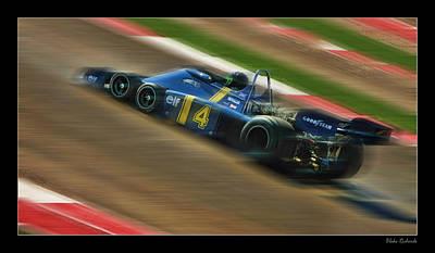 Photograph - Patrick Depailler by Blake Richards