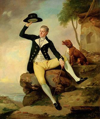 Patrick Painting - Patrick Heatly, Johan Joseph Zoffany, 1733-1810 by Litz Collection