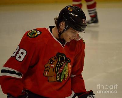 Photograph - Patrick Kane Reflects by Melissa Goodrich