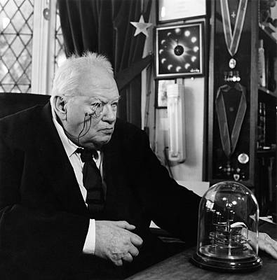 Moore Photograph - Patrick Moore by Lucinda Douglas-menzies