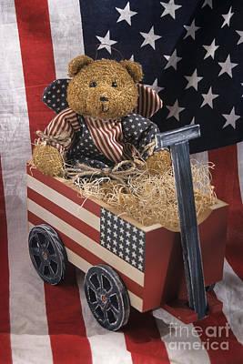 Patriot Bear Art Print