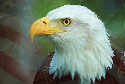 Digital Art - Patriot by Heidi Smith