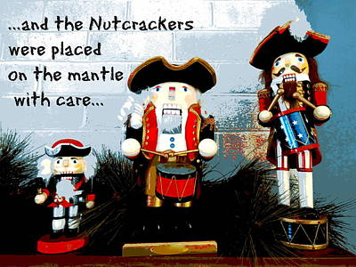 Photograph - Patriot Nutcrackers by Jean Wright