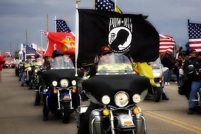 Patriot Riders Original by Hugh Smith