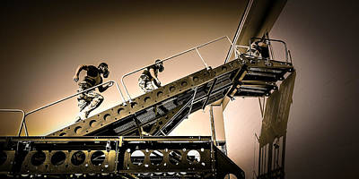 Photograph - Patriot3 Elevated Tactics System by David Morefield