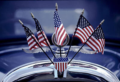 Photograph - Patriotic Car by David and Carol Kelly