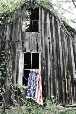 Photograph - Patriotic Fade by Emily Stauring