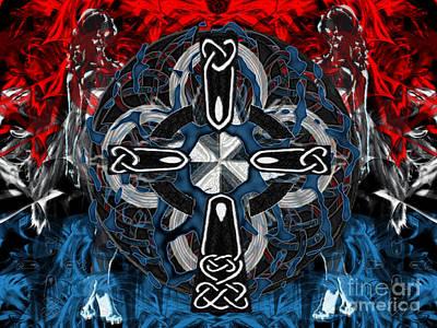 Digital Art - Patriotic Faith by Asegia