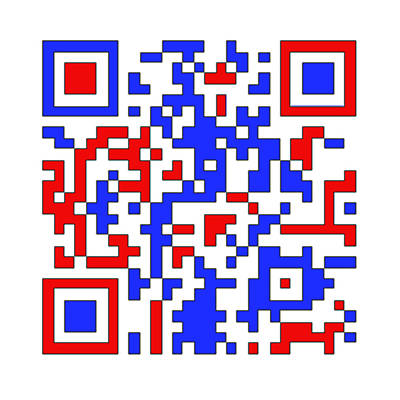 Photograph - Patriotic Qr Code by Richard Reeve