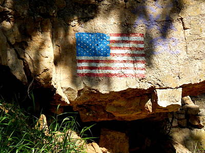Photograph - Patriotic Vandal by Wild Thing