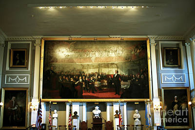 Photograph - Patriots At Faneuil Hall by John Rizzuto