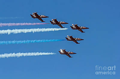 Photograph - Patriots Jet Team by Kate Brown