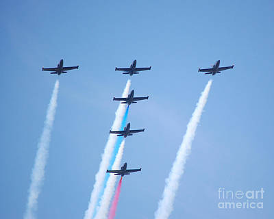 Photograph - Patriots Letter T Formation by Debra Thompson