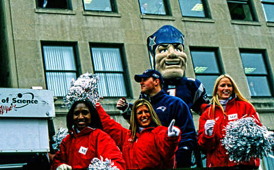 Photograph - Patriots Super Bowl Parade by Mike Martin
