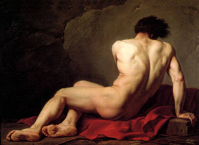 Painting - Patroclus by Jacques Louis David