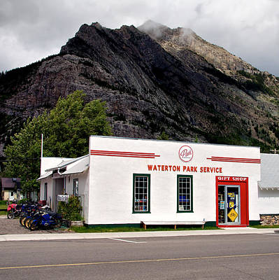 Photograph - Pat's Waterton Park Service by Trever Miller