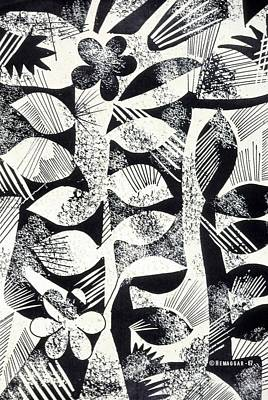 Drawing - Pattern by Hemu Aggarwal