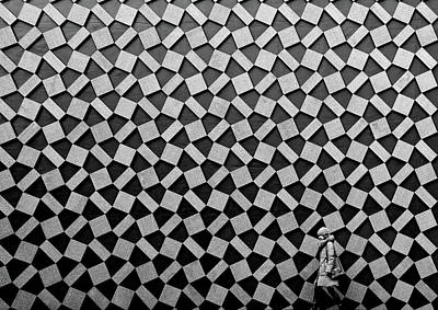 City Streets Photograph - Pattern by Koji Tajima