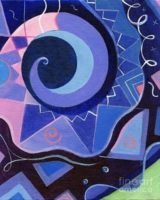 Pattern Power 2 Art Print by Helena Tiainen
