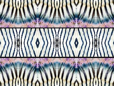 Patterned After Nature IIi Art Print by Lady Ex