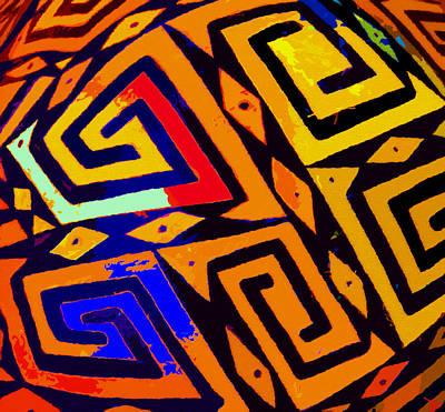 Anasazi Digital Art - Patterns Of The Old Southwest by David Lee Thompson