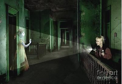 Spooks Digital Art - Patti Starr  by Tom Straub