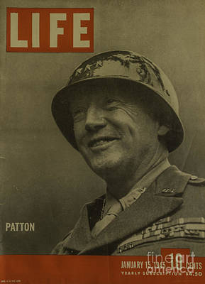 Patton Art Print