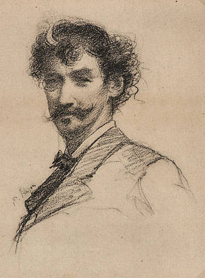 Rajon Drawing - Paul-adolphe Rajon French, 1842 - 1888 After James Mcneill by Litz Collection