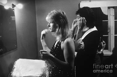 English Rock Groups Photograph - Paul And Linda Mccartney  by Homer Sykes