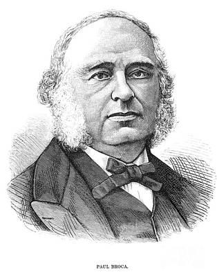 Paul Broca (1824-1880) Art Print
