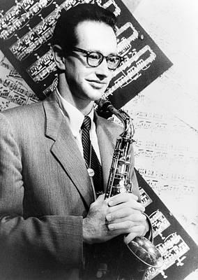 Saxophone Photograph - Paul Desmond (1924-1977) by Granger