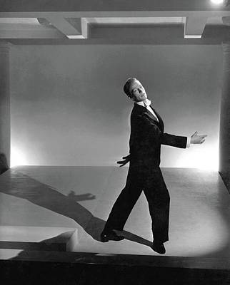 Photograph - Paul Draper Dancing by Horst P. Horst