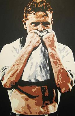 Painting - Paul Gascoigne - England by Geo Thomson