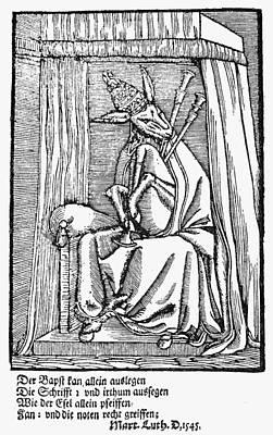 Jackass Painting - Paul IIi (1468-1549) by Granger