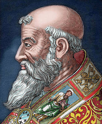 Balding Photograph - Paul IIi (rome, 1468-canino, 1549 by Prisma Archivo