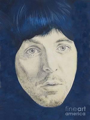 Mccartney Drawing - Paul Mccartney by Kean Butterfield