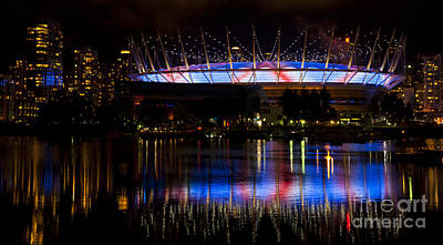 Photograph - Paul Mccartney Plays Bc Place by Chris Dutton