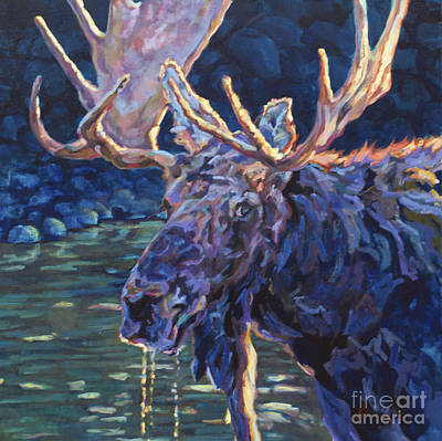Wyoming Painting - Paul by Patricia A Griffin