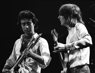 Photograph - Paul And Mick In Spokane 1977 by Ben Upham