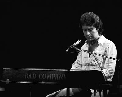 Photograph - Paul At The Keyboard In Spokane 1977 by Ben Upham