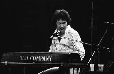 Photograph - Bad Company Live In Spokane 1977 by Ben Upham