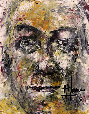 Painting - Paul Tabby by Jim Vance