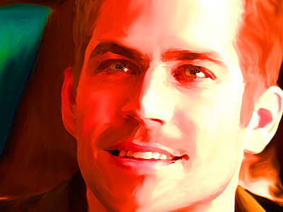 Paul Walker Art Print by Parvez Sayed