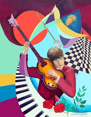 Hofner Painting - Paul With Out  Numbers by Samuel Thomas
