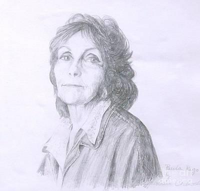 Painting - Paula Rego by Barbara Anna Cichocka