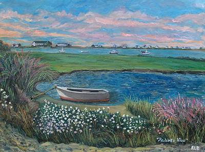 Art Print featuring the painting Paulina's View by Rita Brown