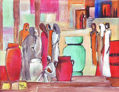 Painting - Pause Douceur by Mirko Gallery
