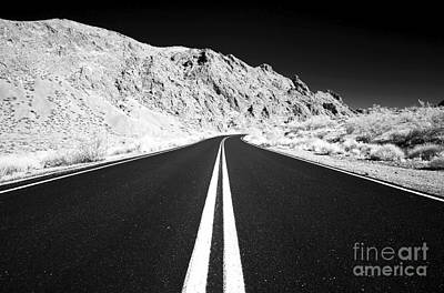 Photograph - Paved Highway To The Valley by John Rizzuto
