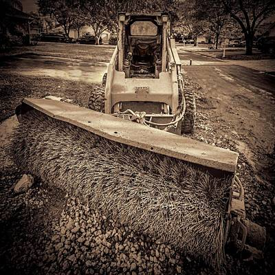 Photograph - Pavement Sweeper by Rudy Umans