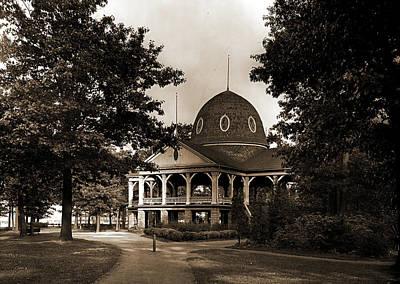 Michigan Port Huron Drawing - Pavilion, Pine Grove Park, Port Huron, Mich, The, Parks by Litz Collection